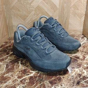 Ryka catalyst 3 suede shoes gray women size 8.5m
